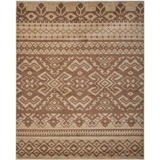 Safavieh Adirondack Camel/ Chocolate Rug (8' x 10')