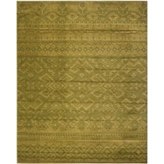Safavieh Adirondack Green/ Dark Green Rug (8' x 10')