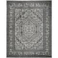 Safavieh Adirondack Silver/ Black Rug (5'1 x 7'6)