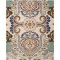 Safavieh Handmade Bella Ivory/ Blue Wool Rug (8'9 x 12')