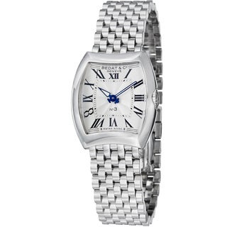 Bedat Women's 'No3' 316.011.100 Silver Dial Stainless Steel Bracelet Watch