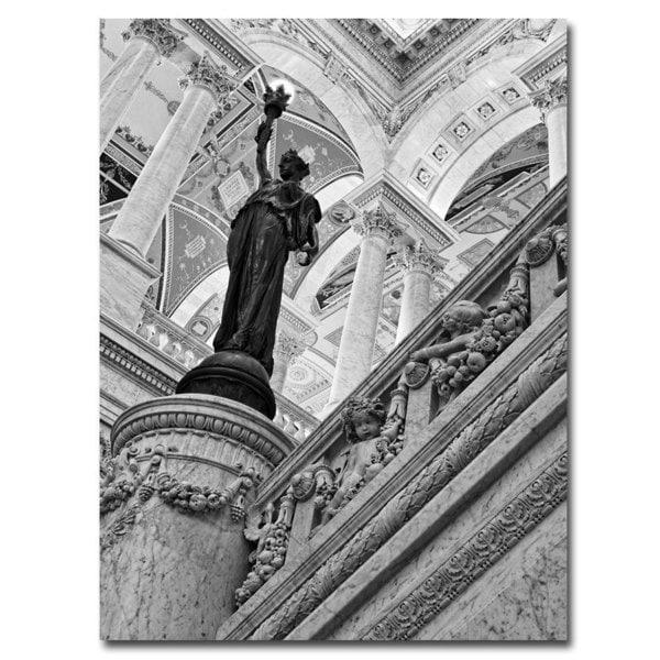 Gregory O'Hanlon 'Library of Congress - Great Hall' Canvas Art