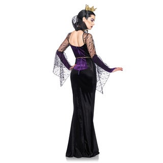 Leg Avenue Women's DP85060 Evil Queen 3-piece Costume