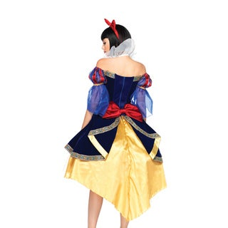 Leg Avenue Women's DP85071 Deluxe Snow White Costume Set