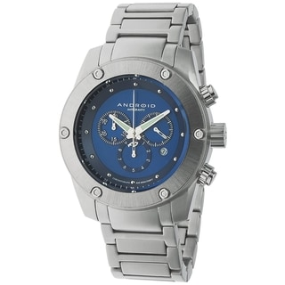 Android Men's 'Antigravity' Blue Dial Stainless Steel Watch