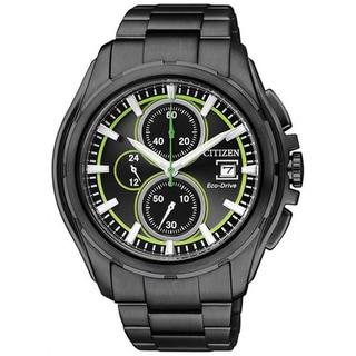 Citizen Men's Eco-Drive CA0275-55E Black Dial Watch