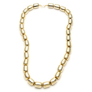 Kenneth Jay Lane Gold Overlay 36-inch Gold Bead Necklace