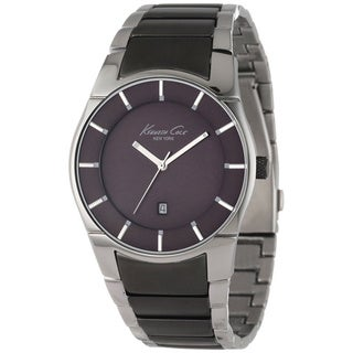 Kenneth Cole Men's Slim Two-tone Stainless Steel Watch