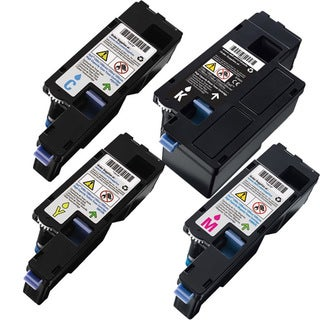 Dell 1760 High Yield Compatible Toner Cartridge BCYM Set