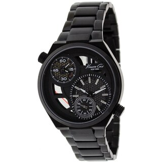 Kenneth Cole Men's KC3992 Classic Round Black Bracelet Watch