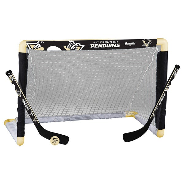 NHL Pittsburgh Penguins Mini Hockey Goal Set