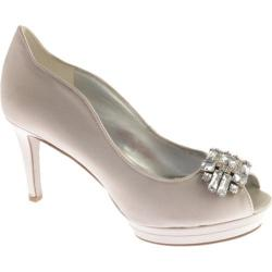 Women's Nine West Avara Silver Satin