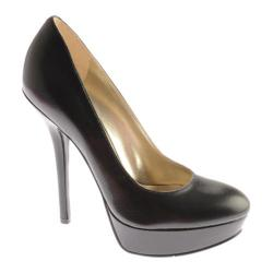 Women's Nine West Bellafina Black Leather