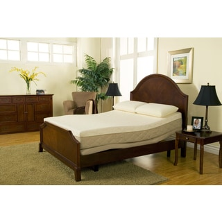 Sleep Zone 10-inch Hybrid Cal King-size Memory Foam Mattress