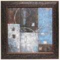 'Soft Canvas Abstract II' Framed Art