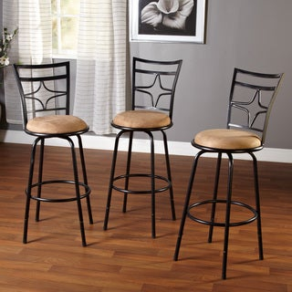 Lexington Adjustable Height Swivel Barstool Trio