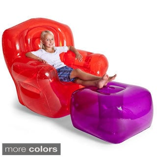Smoke Black Inflatable Bubble Chair