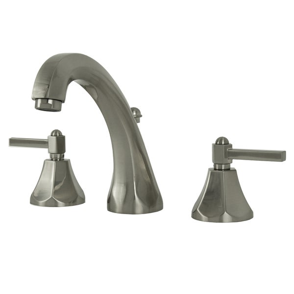 Fontaine Renata Brushed Nickel Widespread Bathroom Faucet