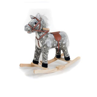 Happy Trails Plush Rocking Haley Horse
