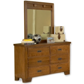 Hardy 6-drawer Dresser and Optional Mirror