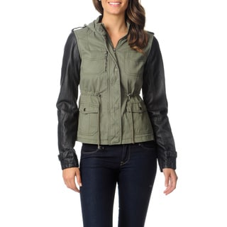 Krush Juniors Olive Military Fashion Jacket