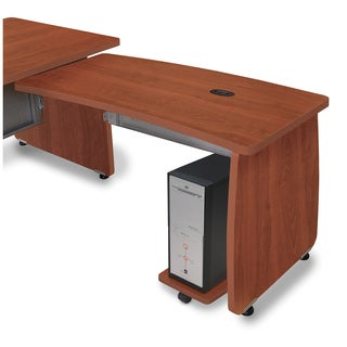 Milano Cherrywood Desk Return