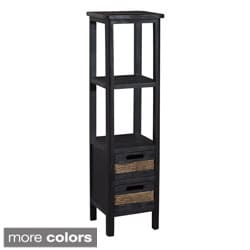 Gallerie Decor Bali Two-drawer Tower