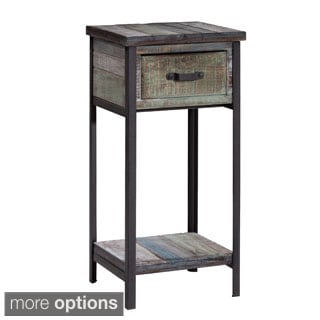 Gallerie Decor Soho Accent Table Cabinet