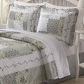 Joyce 3-piece Patchwork Quilt Set