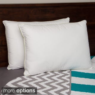 Hotel Madison 300 Thread Count Gussetted Density Pillow (Set of 2)