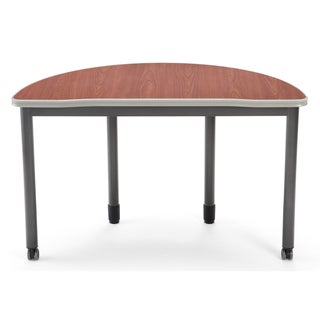 Cherry Top 48-inch Semi-circle Training Table