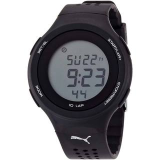 Puma Men's 'Active' Black Digital Sports Watch