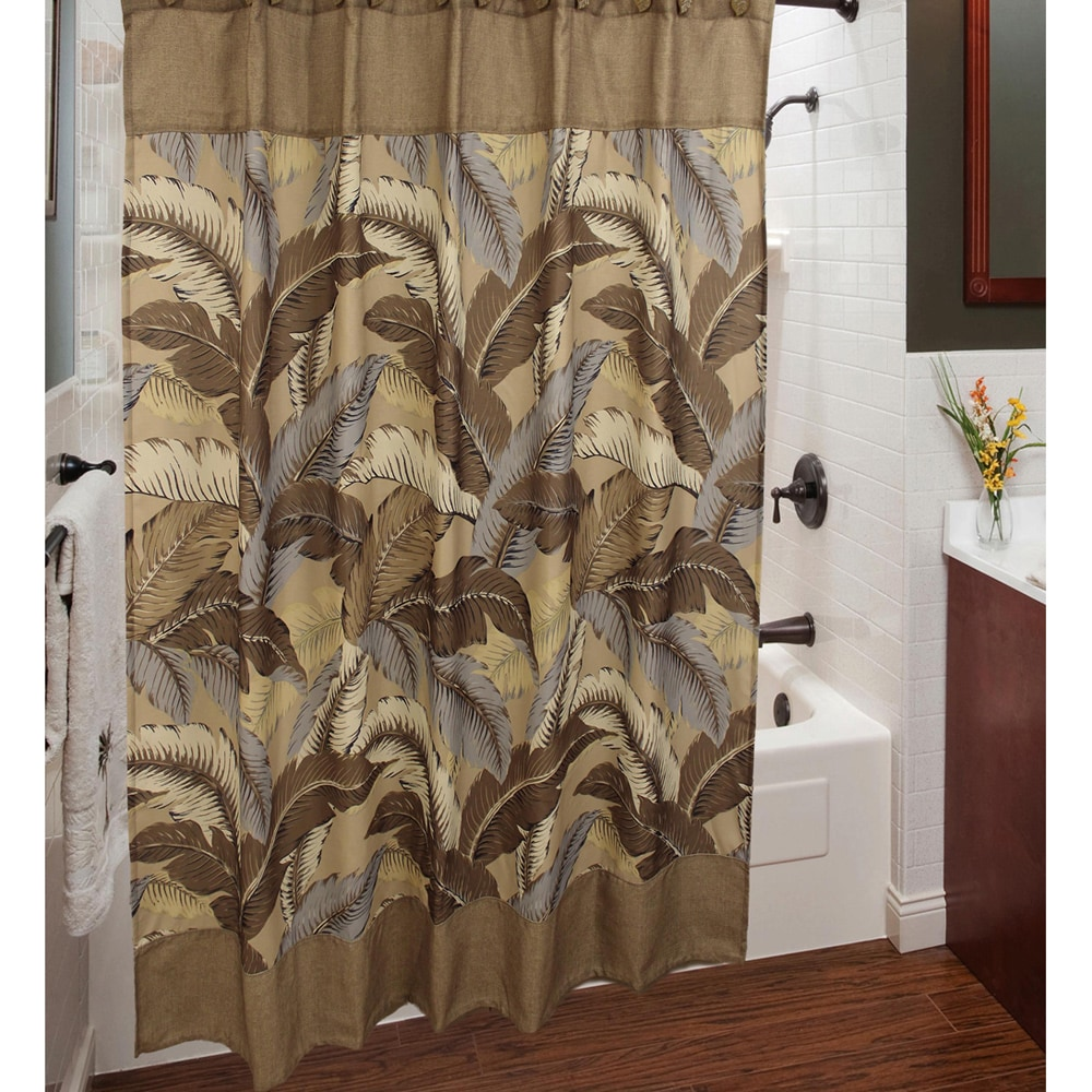 Sherry Kline Riviera Shower Curtain with Hook Set