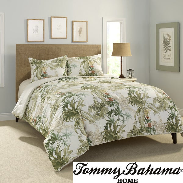 Tommy Bahama Rainforest Tropical 3-piece Comforter Set