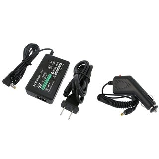 BasAcc Travel/ Car Charger for Sony PSP 1000