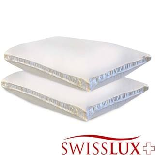 Swiss Lux Gusseted Density Pillows (Set of 2)