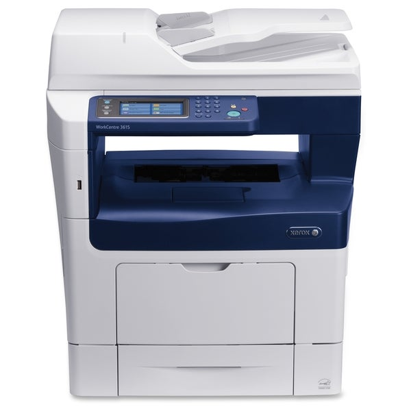 Xerox WorkCentre 3615DN Laser Multifunction Printer - Monochrome - Pl