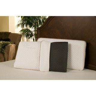 Sleep Zone Black Diamond Ventilated Memory Foam Pillow