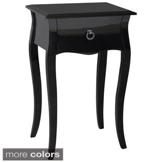 Gallerie Decor Lido Single-drawer Accent Cabinet