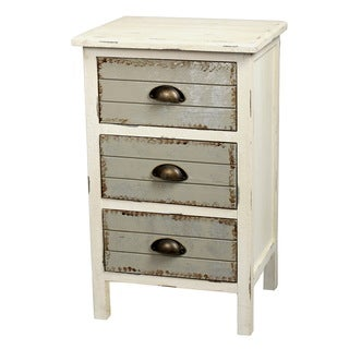 Gallerie Decor Dover Three-drawer Accent Cabinet
