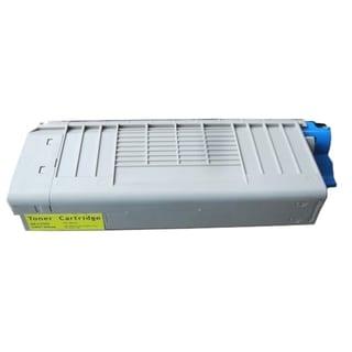 Insten Premium Yellow Color Toner Cartridge 43866101/ 44318601 for OKI C710 C711