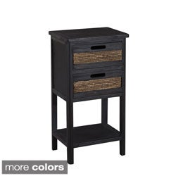 Gallerie Decor Bali Two-drawer Accent Table