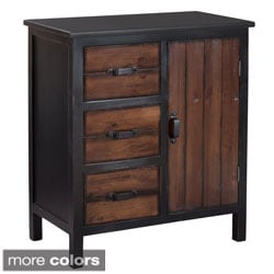Gallerie Decor Adirondack One-door Three-drawer Accent Chest