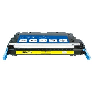 INSTEN Yellow Toner for HP Q6472A/ CLJ3600/ 3600n