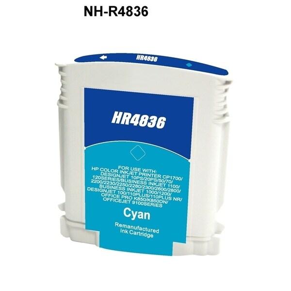 INSTEN HP 11 Cyan Ink Cartridge (Remanufactured)