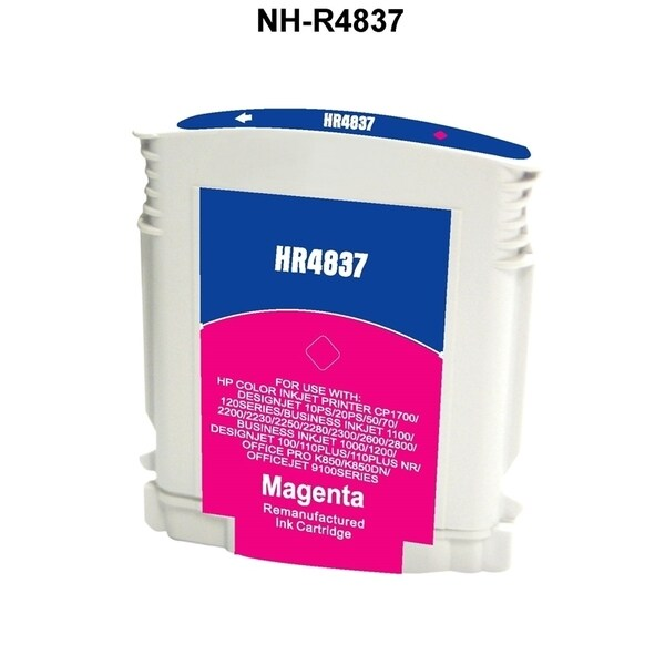 INSTEN HP 11 Magenta Ink Cartridge (Remanufactured)