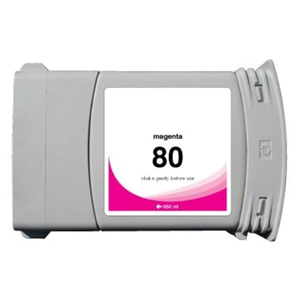 INSTEN HP 80 Magenta Ink Cartridge (Remanufactured)