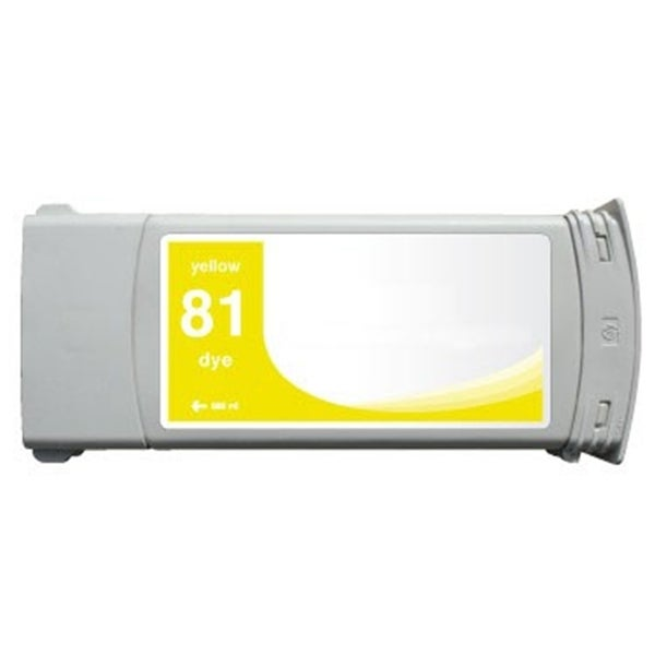 INSTEN HP Designjet 5000/ 5500 Yellow Ink Cartridge (Remanufactured)