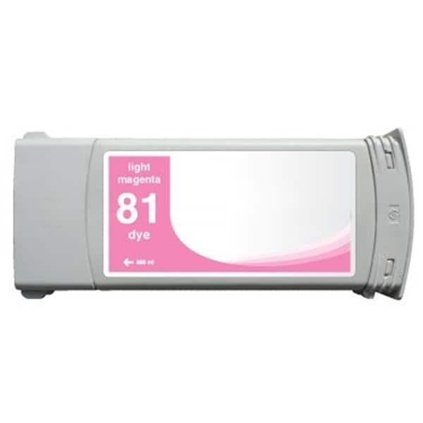 INSTEN HP Designjet 5000/ 5500 Light Magenta Ink Cartridge (Remanufactured)
