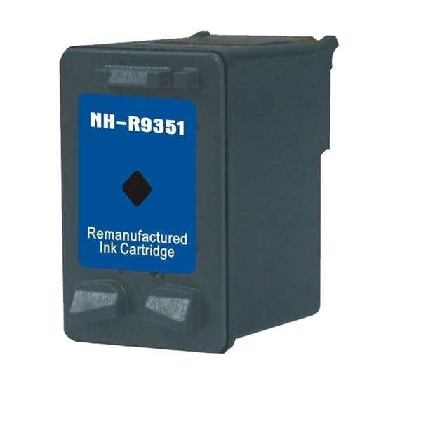 INSTEN HP 21 Single Black Ink Cartridge (Remanufactured)